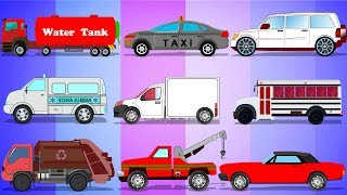 Street Vehicles |  Video For Learning vehicles | Kids Fun Learning Video For Toddlers
