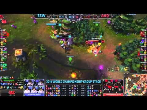 SSW vs AHQ   2014 World Championship Groups A  D1    HIGHLIGHTS