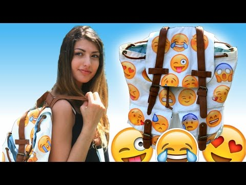 DIY Emoji Backpack!