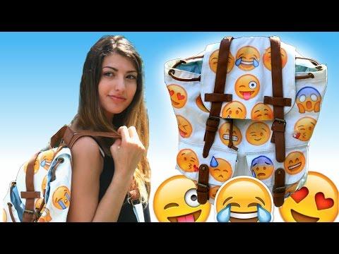 DIY Emoji Backpack!