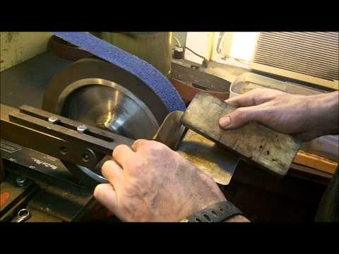 Knife Making Tutorial-  How to Hollow Grind a Knife Music Videos