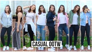 OOTW: CASUAL OUTFITS FOR SCHOOL! ♡ZCbeauty
