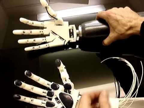 "Animatronic Hand Robot 3D printer ""InMoov"" Part2"