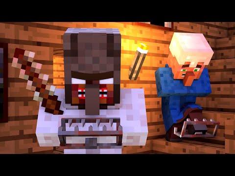 Granny vs Villager Life 3 - Alien Being Minecraft Animation & Monster School
