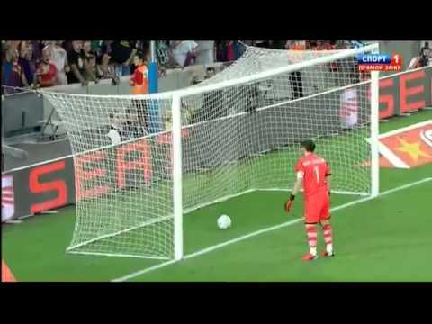 Суперкубок 2012 . Барселона Реал Мадрид  3-2