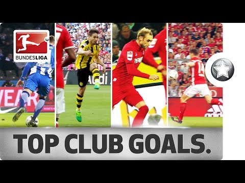 18 Clubs - 18 Goals – The Best Goal From Every Bundesliga Club in 2016/17 thumbnail