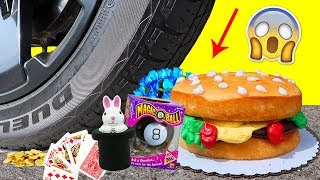 Crushing Magic Tricks by Car Compilation! - Crunchy & Soft Things