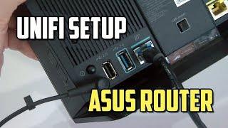 How to Setup UniFi on China Asus Router? Change to English language