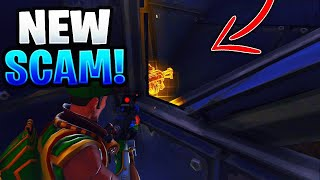 *NEW SCAM* The Invisible Gun Pick Up Scam! (Scammer Gets Scammed) Fortnite Save The World