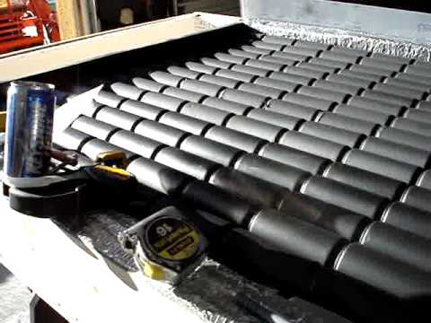Pop soda beer can Solar Powered heater furnace panel -- Part 1