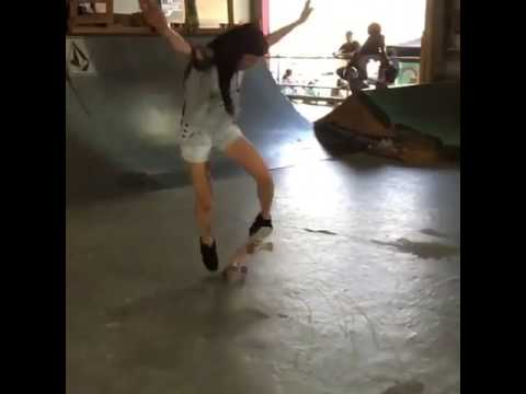 Find a mom that can tré flip a 2x4 ✔ @sa8kaah via @thrashermag | Shralpin Skateboarding