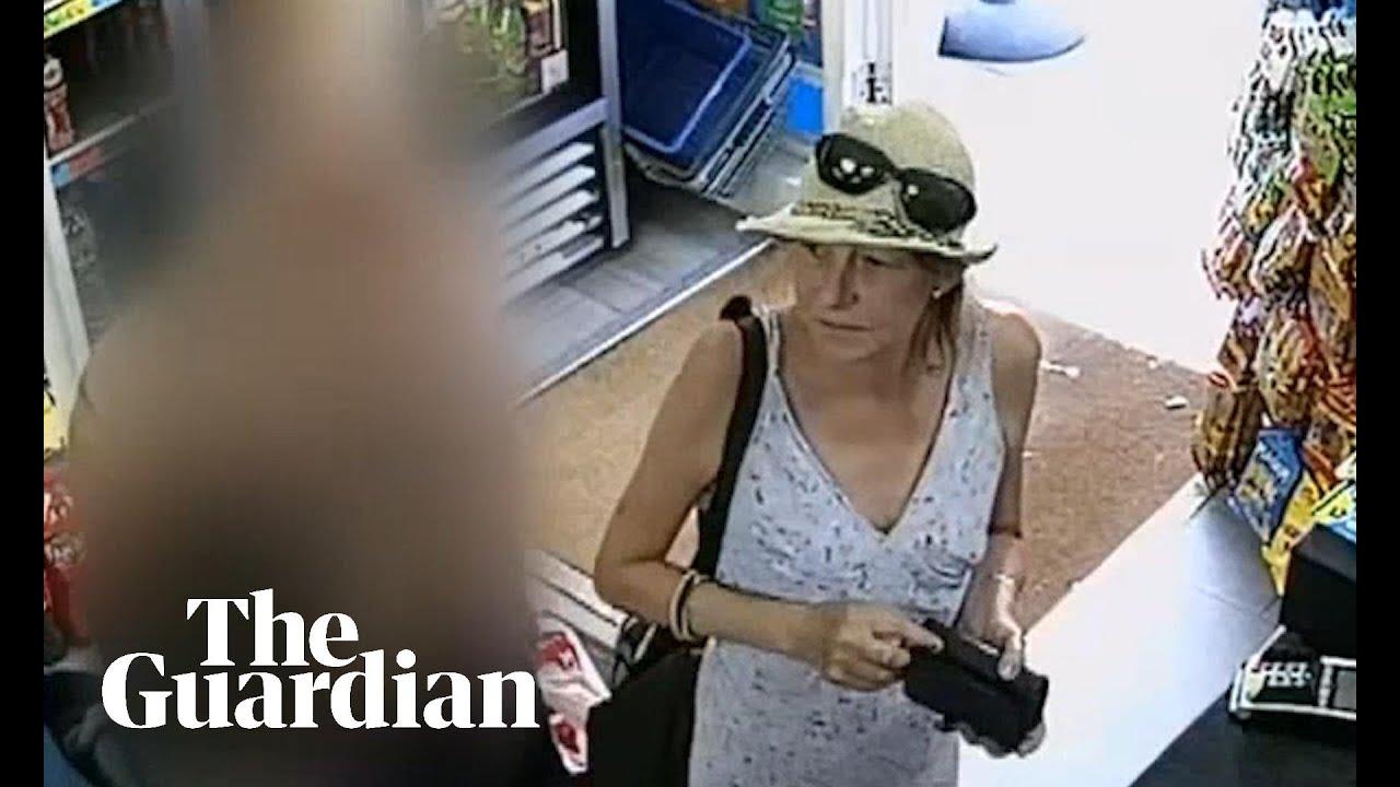 CCTV footage shows novichok victim day before attack