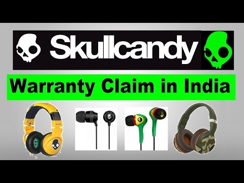 How to Claim SkullCandy Warranty in India? Skullcandy Service Centre (India)|| Warranty Claim Policy