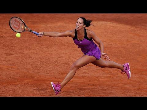 2016 Internazionali BNL d'Italia Quarterfinal   Madison Keys vs Barbora Strycova   WTA Highlights