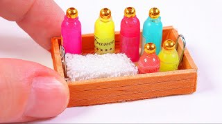 Miniature Soap Bottle DIY ~ Dollhouse DIY