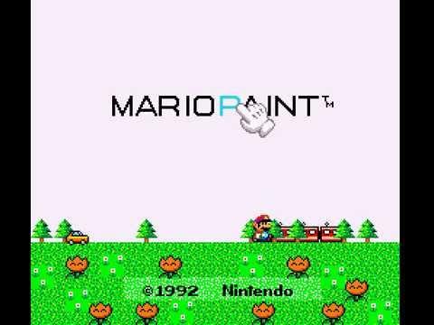 Mario Paint (Joystick) - Let