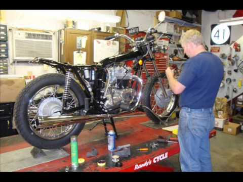 1972 Triumph Bonneville T120V Restoration by Randy's Cycle Service @ rcycle.com