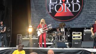 LITA FORD - Kiss Me Deadly (live)