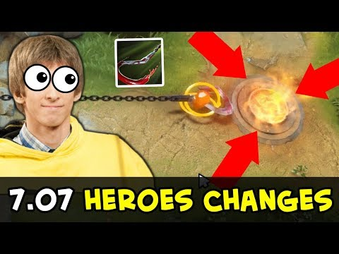 7.07 HEROES CHANGES