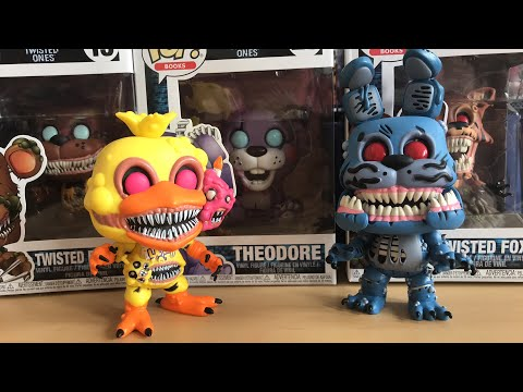 Unboxing the Twisted Ones Pops (FNAF)