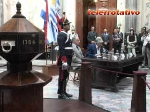 VILLA PURIFICACION / Presidente firmo expropiación