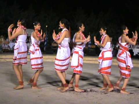 Folk Dance Of West Bengal Performed In The International Folk Festival In Greece 2011.mpg video