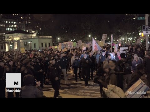 Sights and Sounds of New York's Protest in Solidarity With Ferguson | Mashable