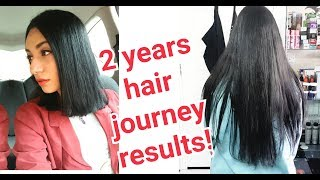 2 years Hair Journey! with SUPER HAIR GROWTH OIL