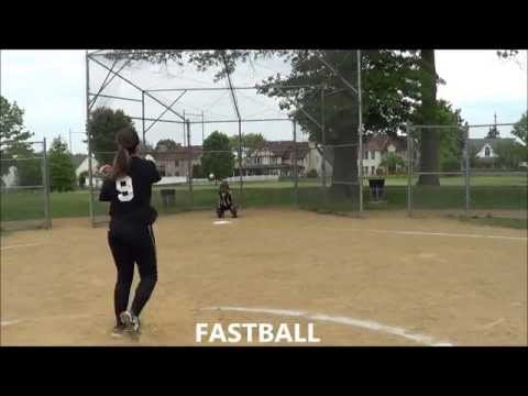 Megan Gallagher Softball Skills Video