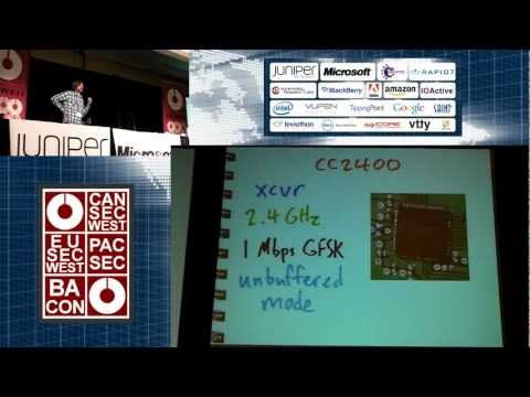 CanSecWest 2011 -- Project Ubertooth, Building a Better Bluetooth Adapter
