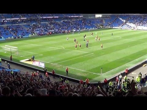 Birmingham fans at Cardiff City | Davo's Diary