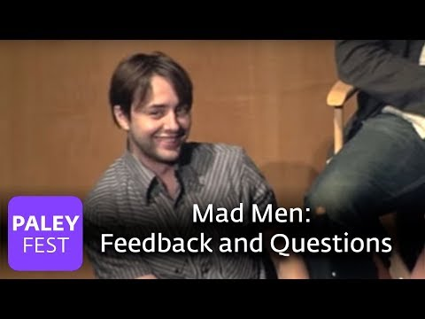 Mad Men - Feedback And Questions (Paley Center) Video