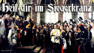 Heil dir im Siegerkranz ✠ [German imperial anthem][+ english translation]