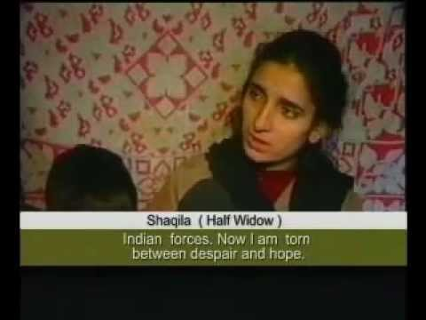 Kashmir Disappearances and fake encounters by Indian Army.flv