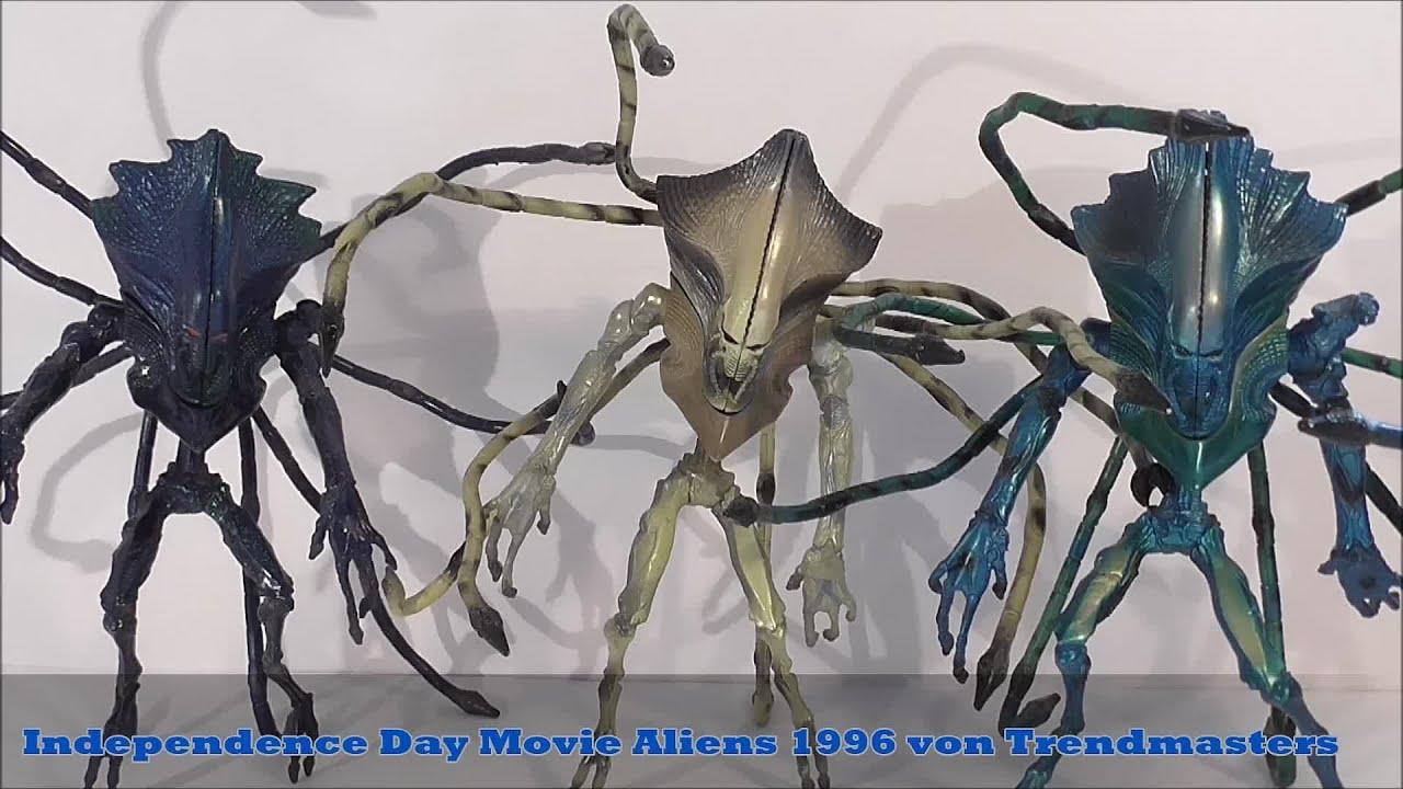 Independence Day Movie Aliens 1996 von Trendmasters - YouTube