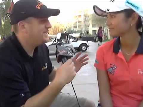 Ai Miyazato after 3rd round at RR Donnelley LPGA Founders Cup