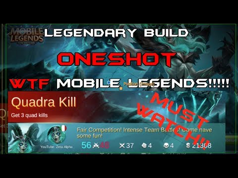 Oneshot Vexana Build - Mobile Legends are you serious?!?!? (MUST WATCH)