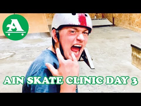 AIN SKATERS EDGE CLINIC 2019 PART 3