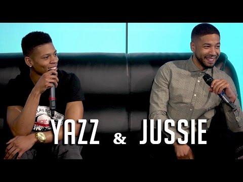 Empire's Yazz & Jussie Smollett Detail Kiss w/ Naomi Campbell & Craziest DM's