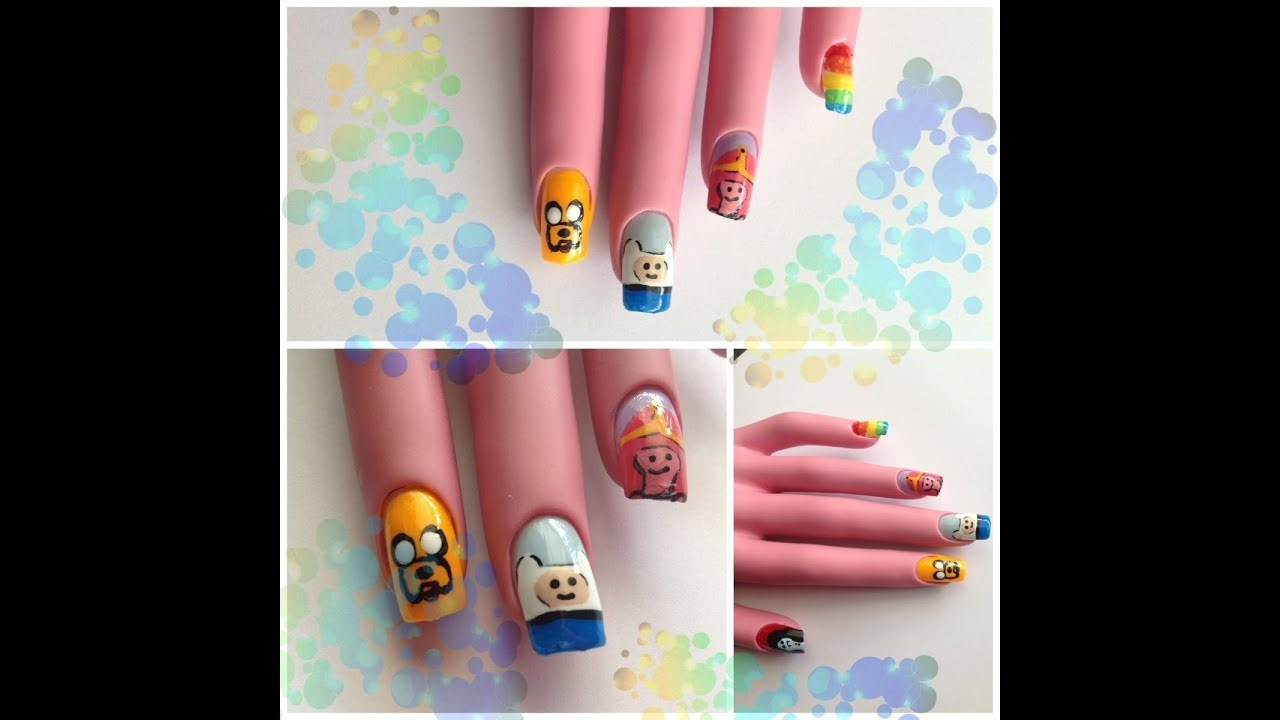 Adventure Time Nails Not a