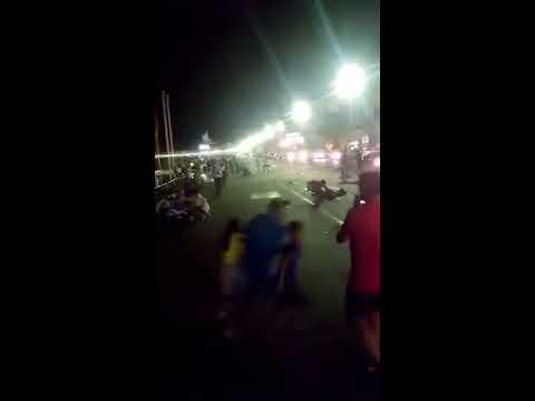 Fransa Nice 'de Kamyon İle Terör Saldırısı Cep Telefonu Kamerasından...