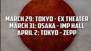 Sabaton Japan Tour Trailer 2018