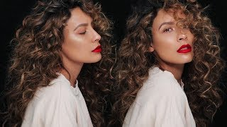 Download HOW TO GET NATURAL LOOKING CURLS | DESI PERKINS 3Gp Mp4