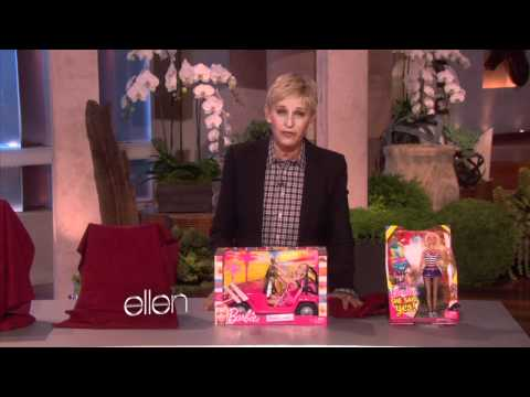 Ellen Reveals a New Barbie