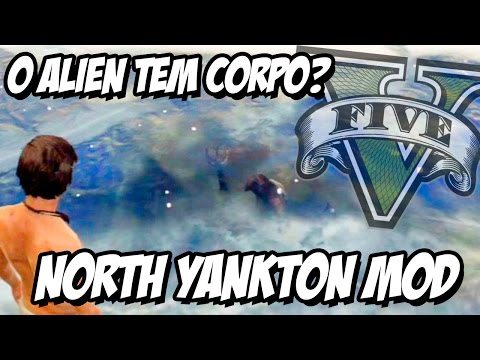 GTA V - Alien de North Yankton CORPO INTEIRO