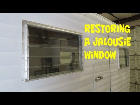 Restoring A Jalousie Window