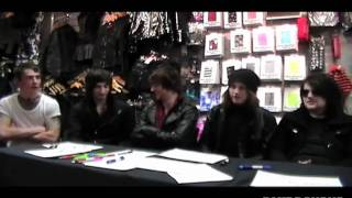 Asking Alexandria Interview By Blue Banana 2010 - Exclusive Asking Alexandria Talk with BBTV