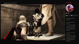 ASSASSINS CREED II, Part Twenty One, PS4 Live Broadcast, No Commentary, Walkthrough
