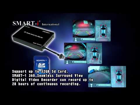 Smart i 360 Degree Seamless Surround View Digital Video Recorder.
