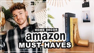 THE BEST AMAZON HOME DECOR + DIY HACKS (Affordable + Aesthetic) // Lone Fox